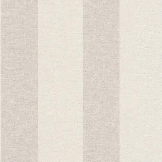 Papier peint trompe l'oeil effet briques blanches - UGEPA