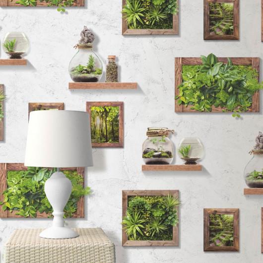 Lame vinyle PVC à clisper Carrelage retro bleu - Starfloor click 30 Tarkett