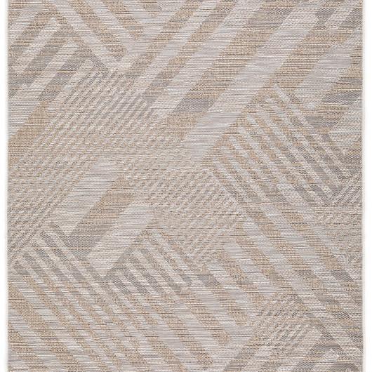 Papier peint à motif à rayures Dot rose framboise/jaune - SWING - Caselio