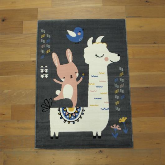Sol vinyle Circuit automobiles pour enfant MACADAM GREEN - 2M - Exclusive 300 Tarkett