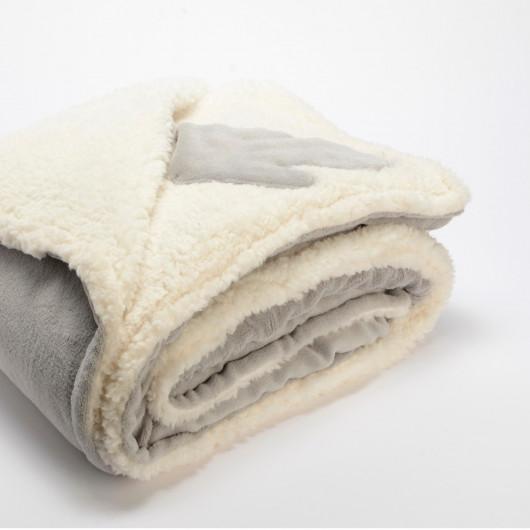 Coussin uni jaune moutarde, effet relief damier, tout doux - Amadeus - 40x40cm.