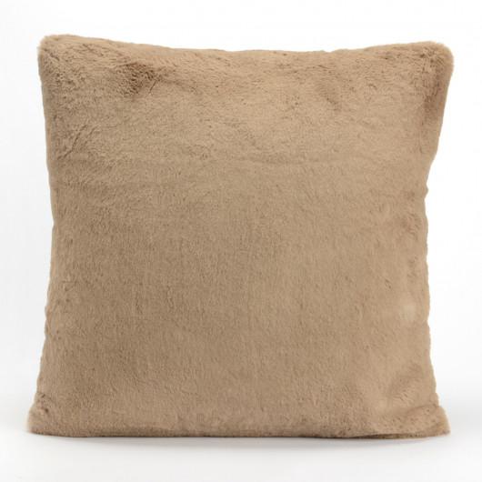 Plaid uni bleu nuit, effet relief damier, tout doux - Amadeus - 130x170cm.