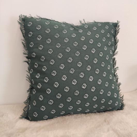 Tapis ALASKA tout doux gris foncé et lignes blanches en contour - 200x290cm.