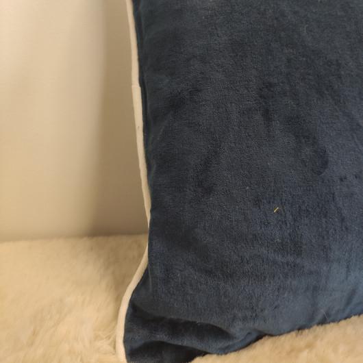 Tapis ALASKA - Ethnique noir et blanc - 80x150cm.
