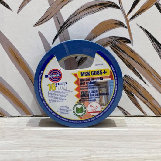 Papier peint Jasmine gris argent pailleté à motif feuillage scandinave - UGEPA