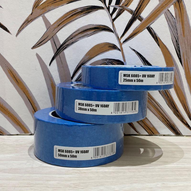 Papier Peint Vinyle A Motif Triangles 3d Bleu Et Blanc Hexagone