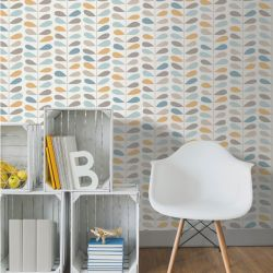 Paillasson Welcome gris  - Efia - 50x75cm