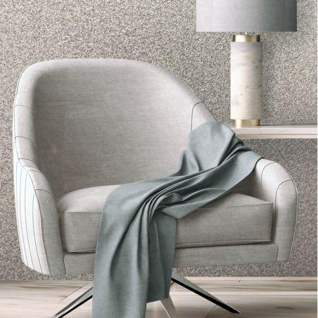 Paillasson Glamour Dots rouge  - Efia - 50x75cm
