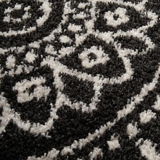 Papier peint Triangles bleus et bois vintage - Collage - Ps International