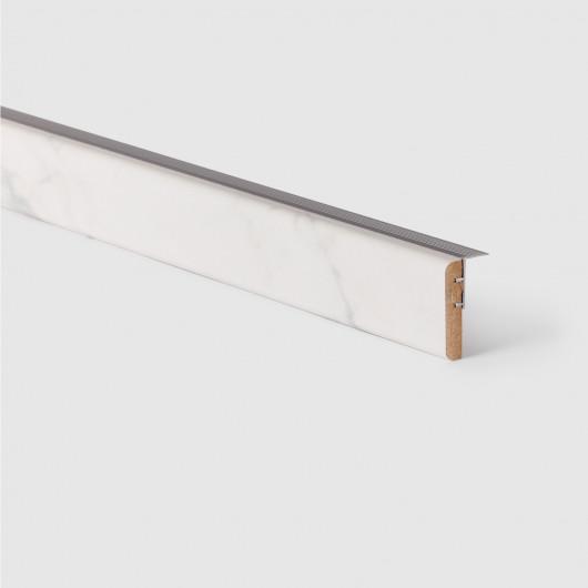 Sol vinyle lino parquet gris clair ADMIRAL - 4M - Exclusive 300 Tarkett
