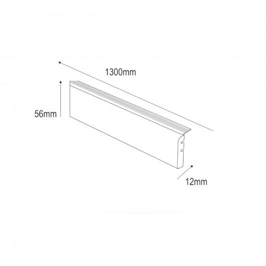 Lames vinyles PVC à clipser - carreaux de ciment noir et blanc - DECO TILE CLICK Kalinafloor