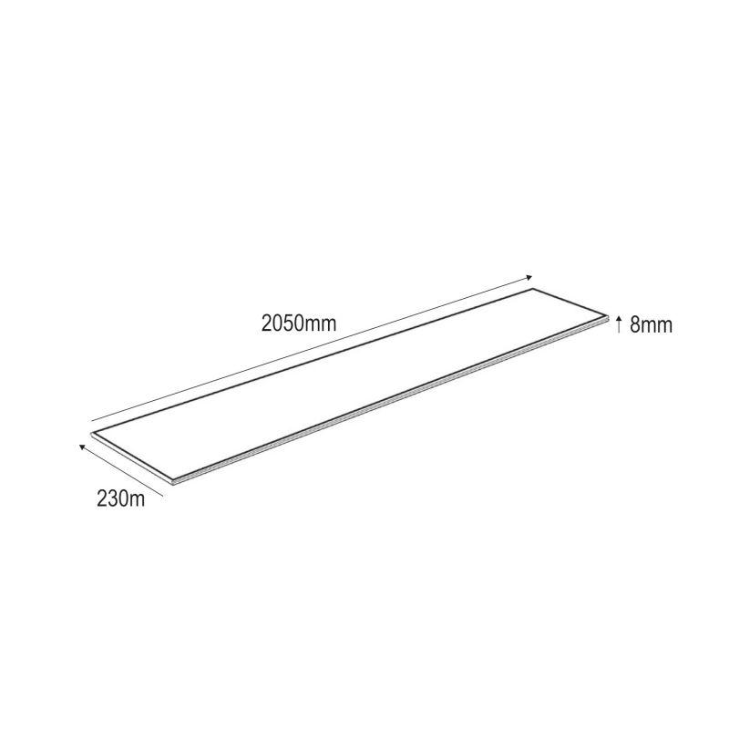 Papier peint vinyle trompe l'oeil marbre blanc / gris - HEXAGONE - UGEPA