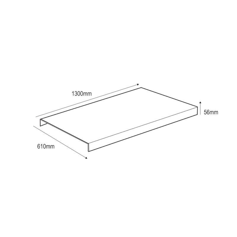 Papier peint vinyle géométrique marbre et doré - HEXAGONE - UGEPA