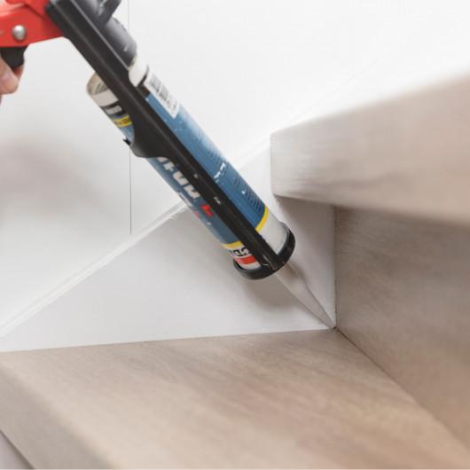 Tapis CANVAS triangles couleurs foncées