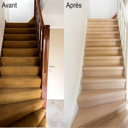 Tapis enfant CANVAS beige nuage bleu et pluie de coeurs - 120x170cm