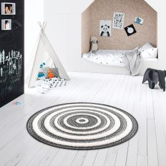 Sol vinyle lino effet béton marbré gris taupe Novara - 4M - Texline - Gerflor