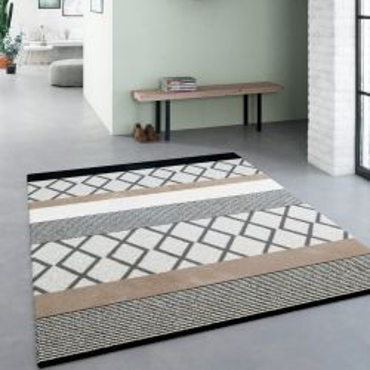 Sol vinyle lino motif coloré Gribouille - 3M - Exclusive 300 Tarkett