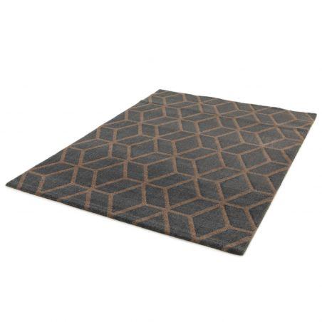 Papier peint Années 60 bordeaux et jaune LISA - Rasch
