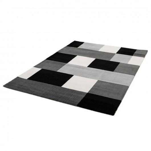 Papier peint Diane Retro - bleu charron et doré - Rasch
