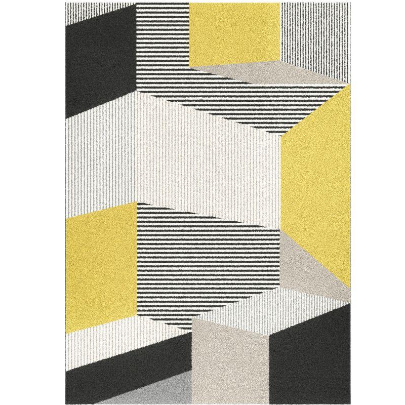 Papier peint uni Linen bleu paon - Caselio