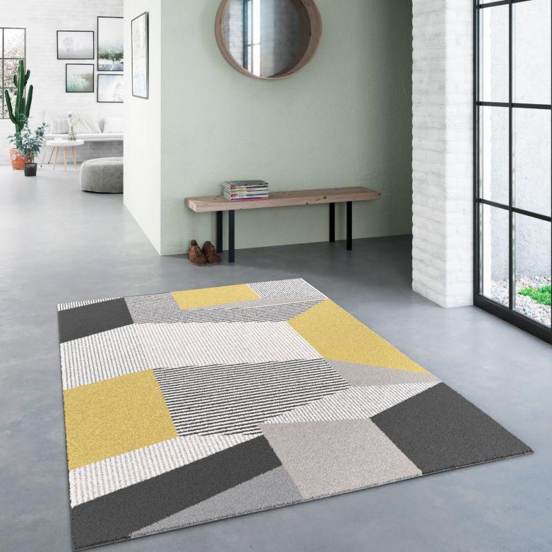 Papier peint à motif Chevrons beige - GRANDECO Inspiration Wall