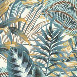 Revêtement PVC - Largeur 4m - Cosytex Coventry 770D bleu - Beauflor