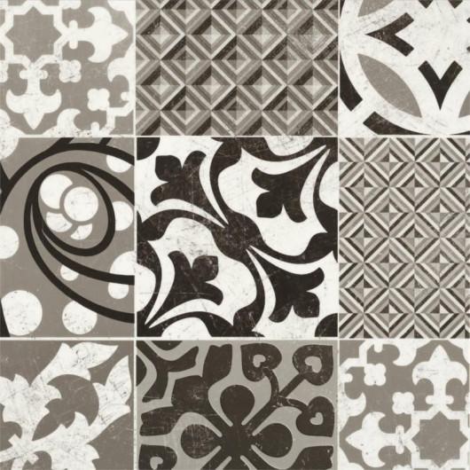 Papier peint graphique CUBIC bleu doré - Rasch