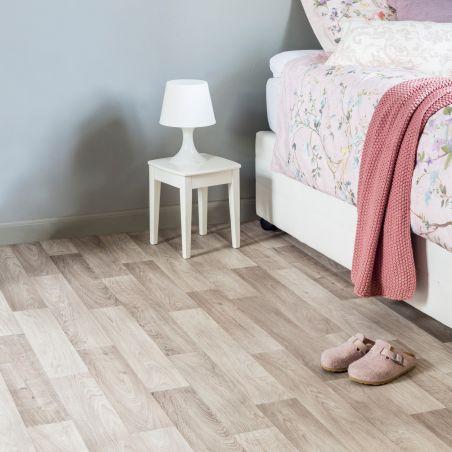 Papier peint motif géométrique nuances de bleus VINCENT - GRANDECO Life