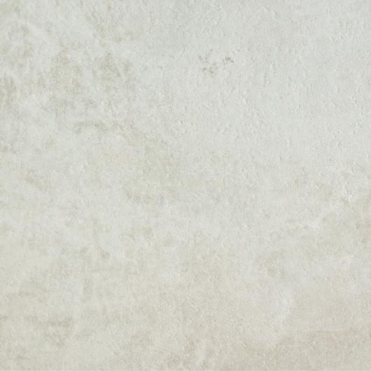 Tapis RITUAL bi-matière à motif structuré écru et noir - 160x230cm