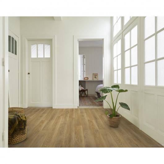 Papier peint motif géométrique original beige et doré - ONYX - UGEPA