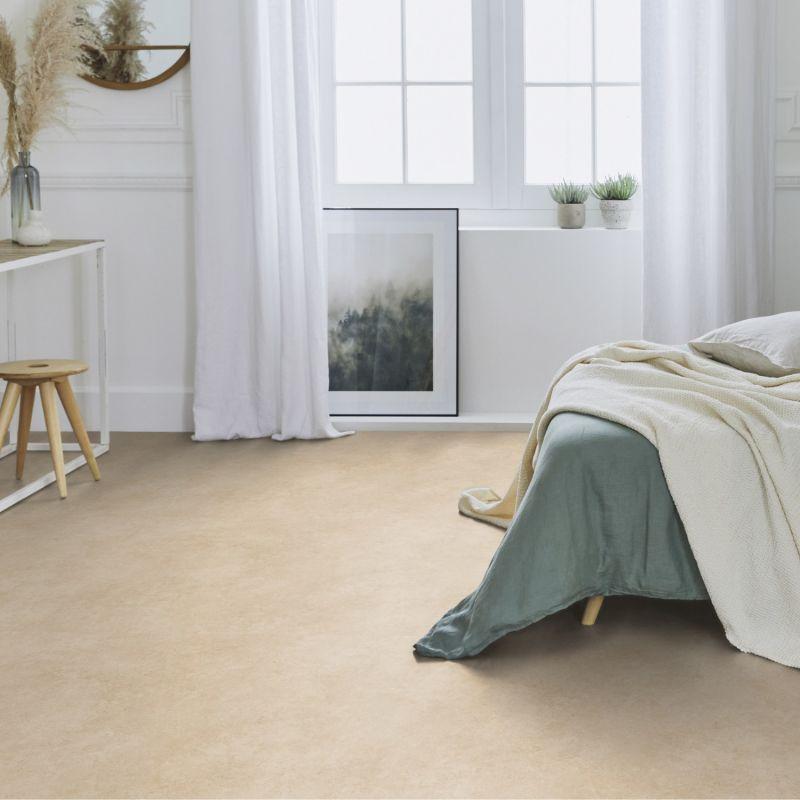Papier Peint A Motif Retro Orange Et Gris Grandeco Solcolor
